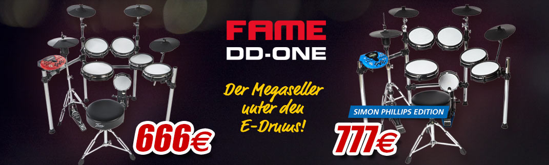 MUSIC STORE Fame DD-One