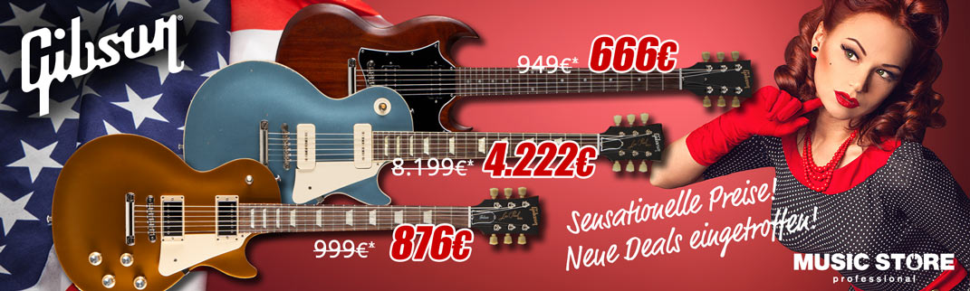 MUSIC STORE Gibson-Deal 2018