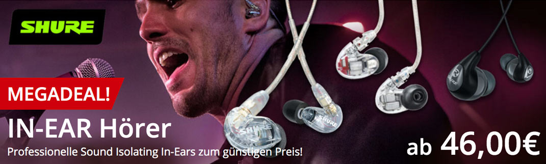 MUSIC STORE Shure In-Ear