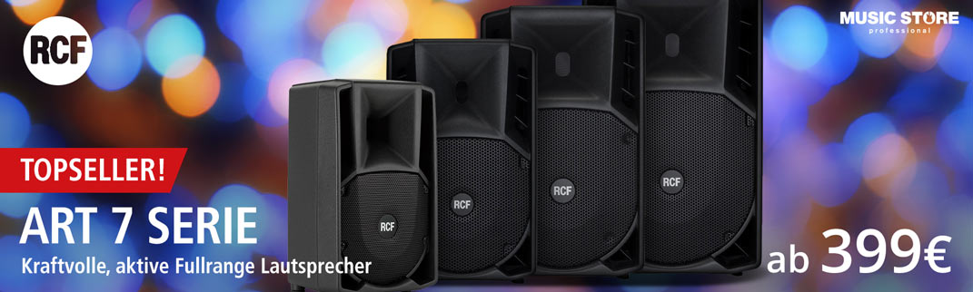 MUSIC STORE RCF-7-Serie