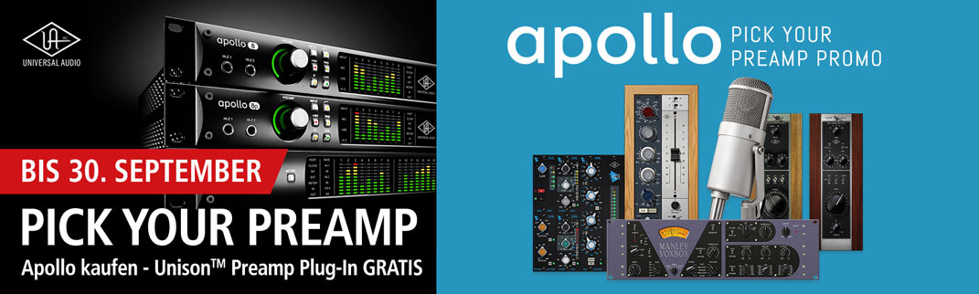 MUSIC STORE UA Pick your Preamp