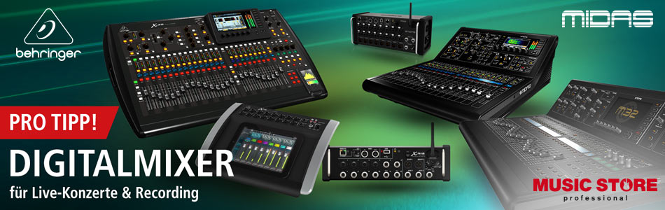 MUSIC STORE Behringer Midas Digital Mixer