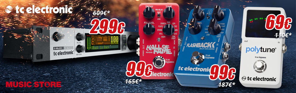 MUSIC STORE TC Electronic Deal